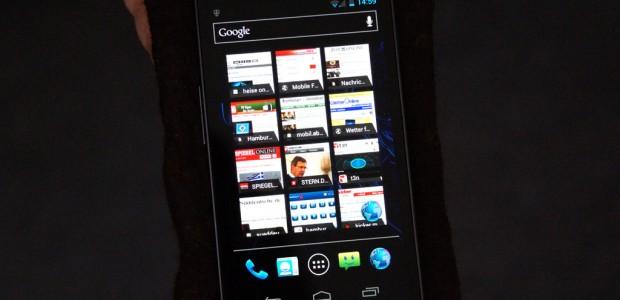 Auf dem Samsung Galaxy Nexus wurde Android 4.1 Jelly Bean ausgerollt. ukonio.de hat die neuste Version des Google-Betriebssystems einem ersten Test unterzogen.