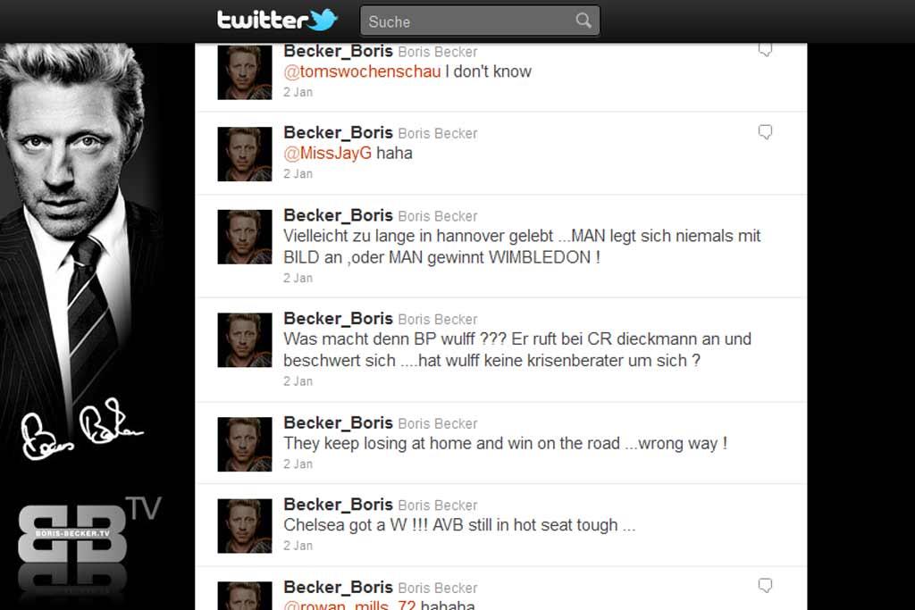 Boris Becker Twitter