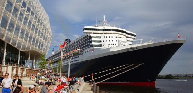 Im kommenden Jahr wird die Queen Mary 2 gleich zehn Mal in Hamburg vorbeischauen. Das teilte die Cunard Line mit. Ab Hamburg starten Kreuzfahrten nach Nordeuropa.