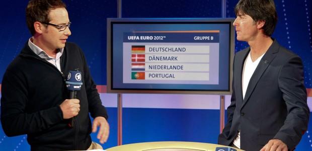 Bei der EM in Polen und der Ukraine berichtete Matthias Opdenhövel zunächst aus dem deutschen Quartier, interviewte Bundestrainer Jogi Löw und sprang nun für Gerhard Delling ein.