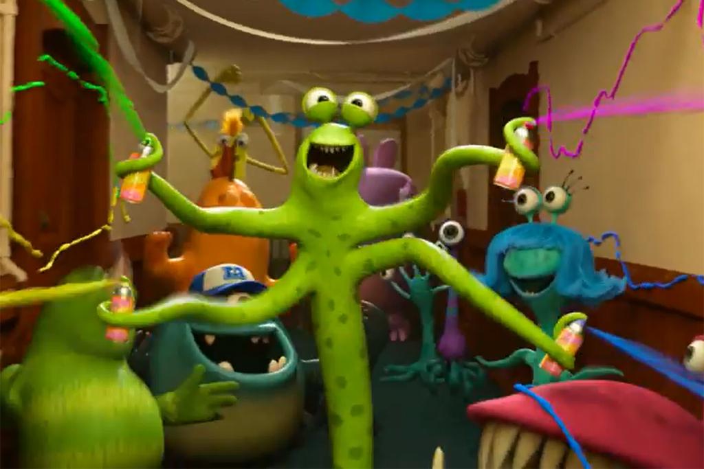 Monsters University Trailer Screenshot YouTube