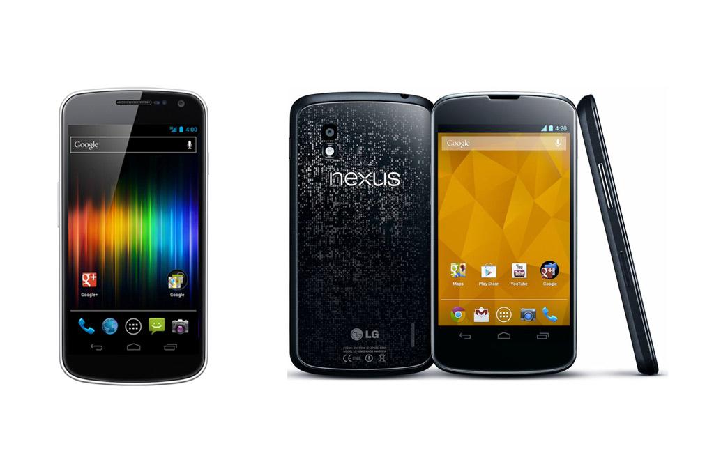 samsung-galaxy-nexus-lg-nexus-4-google