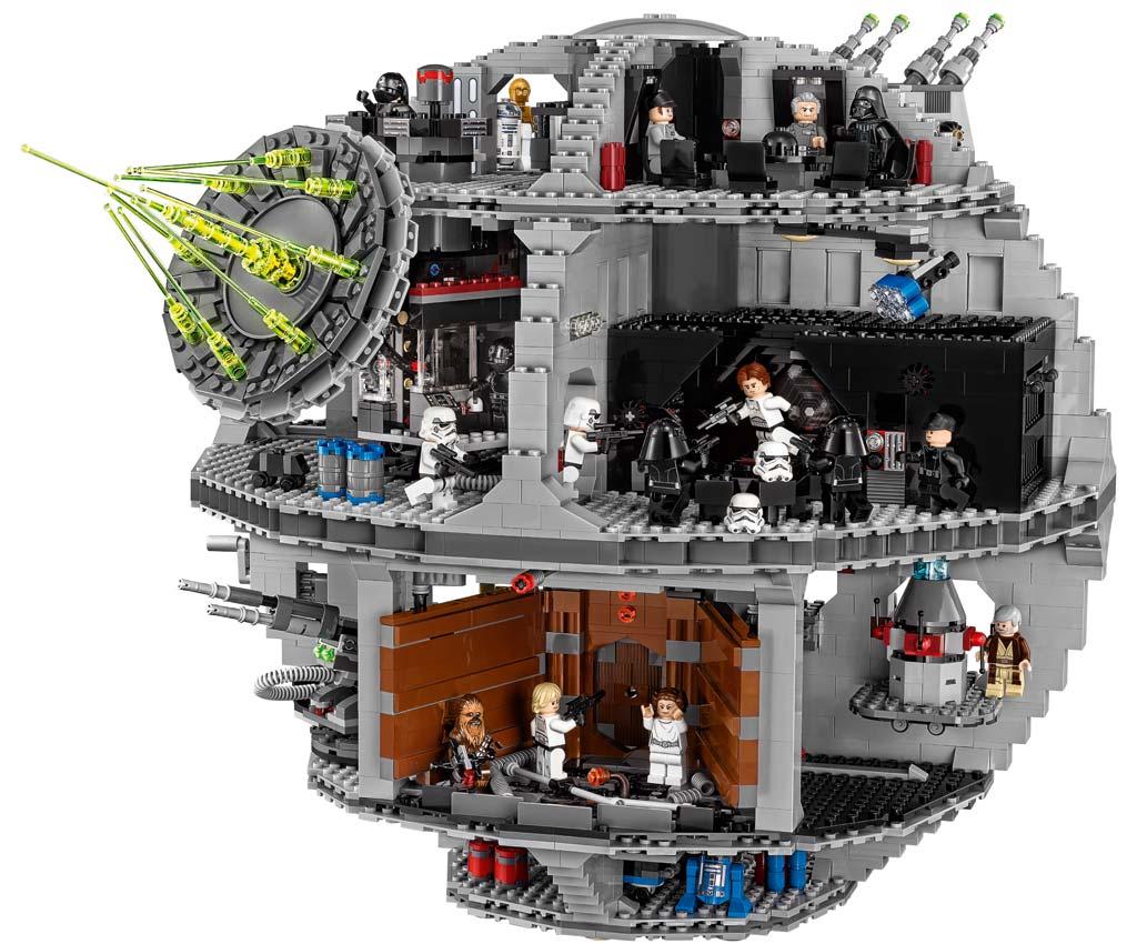 Spiel-Set für kleine und... große Bewohner der Galaxie | © Lego