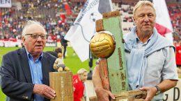 Legenden: Uwe Seeler und Horst Hrubesch | © http://foto-burmester.de