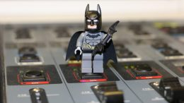 Batman zu Besuch im Studio 1   © Andres Lehmann / ukonio.de