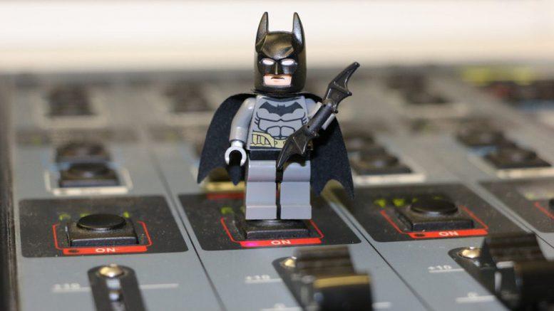 Batman zu Besuch im Studio 1 | © Andres Lehmann / ukonio.de