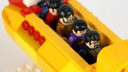 Die Beatles in ihrem Yellow Submarine | © Andres Lehmann / zusammengebaut.com