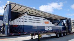 Schiff aus LEGO! | © DFDS